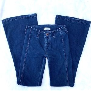 Free people bell bottom 70s style jeans